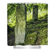 Two Standing Stones Shower Curtain