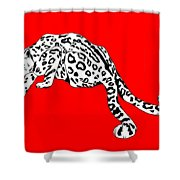 Two Tails Shower Curtain