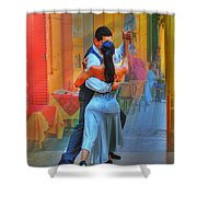 Two Tango Shower Curtain