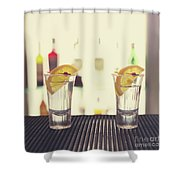 Two Tequilas Shower Curtain
