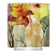 Two Vases Shower Curtain