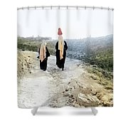 Two Women In 1920 Shower Curtain