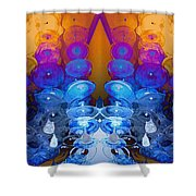 Two Worlds Shower Curtain