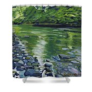 Twolick Creek Shower Curtain