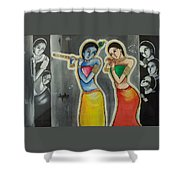 Gulzar..mora Gora Rang  Shower Curtain