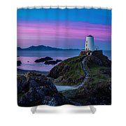 Twr Mawr, Anglesey Shower Curtain