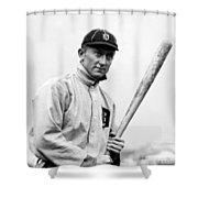 Ty Cobb - 1910 Shower Curtain