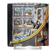 Tycho Brahe (1546-1601) Shower Curtain