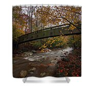 Tye River In Color Shower Curtain
