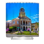 Tyler County Courthouse Shower Curtain