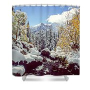 Tyndall Creek Shower Curtain