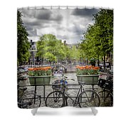 Typical Amsterdam Shower Curtain