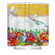 Typical Summer Day Shower Curtain
