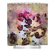 Typocosmy Layout  Id 16098-054729-96560 Shower Curtain