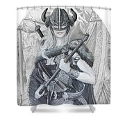 Tyryja Shower Curtain
