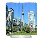 Toronto Towers From The Park Shower Curtain
