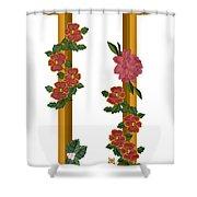 U Is For Understanding Shower Curtain