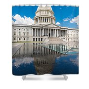 U S Capitol East Front Shower Curtain