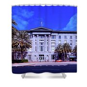 U S Custom House - New Orleans Shower Curtain