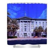 U S Custom House - New Orleans Shower Curtain