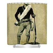 U. S. Soldier, Spanish-american War Shower Curtain
