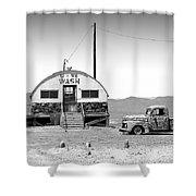 U - We Wash - Death Valley Shower Curtain
