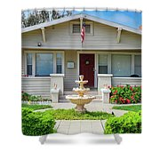 Suburban Arts And Crafts Hayward California 18 Shower Curtain