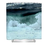 Ucluelet Breaking Waves Shower Curtain