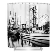 Ucluelet Harbour - Vancouver Island Bc Shower Curtain