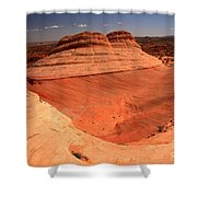 Ufo In Coyote Buttes Shower Curtain