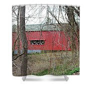Uhlerstown Covered Bridge Shower Curtain