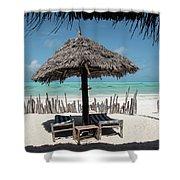 Uhuru Beach Lodge Zanzibar - Notkak Shower Curtain