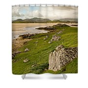 Uig Sands - Isle Of Lewis Shower Curtain