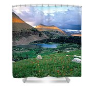 Uinta Wilderness Shower Curtain