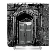 Ukrainian Catholic Church Bw Shower Curtain