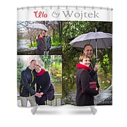 Ula And Wojtek Engagement 1 Shower Curtain