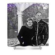 Ula And Wojtek Engagement 6 Shower Curtain
