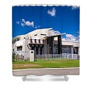Ultra Modern House Shower Curtain