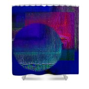 Ultradeep Lavender Shower Curtain