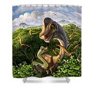 Ultrasaurus Shower Curtain