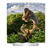 Ultrasaurus Shower Curtain