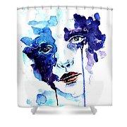 Ultraviolence Shower Curtain
