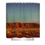 Uluru/ayers Rock Shower Curtain