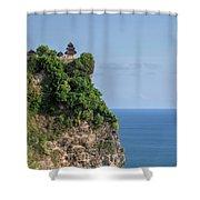 Uluwatu - Bali Shower Curtain