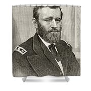 Ulysses S. Grant, 1822 To 1885. Union Shower Curtain