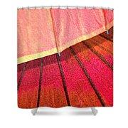 Umbrella Sunrise Shower Curtain