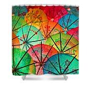 Umbrellas Galore Shower Curtain