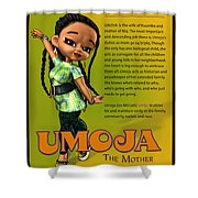 Umoja The Mother Shower Curtain