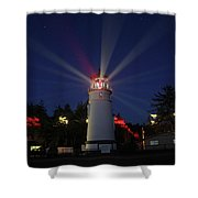 Umpqua Lighthouse Shower Curtain