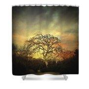 Un Dernier Crepuscule Shower Curtain